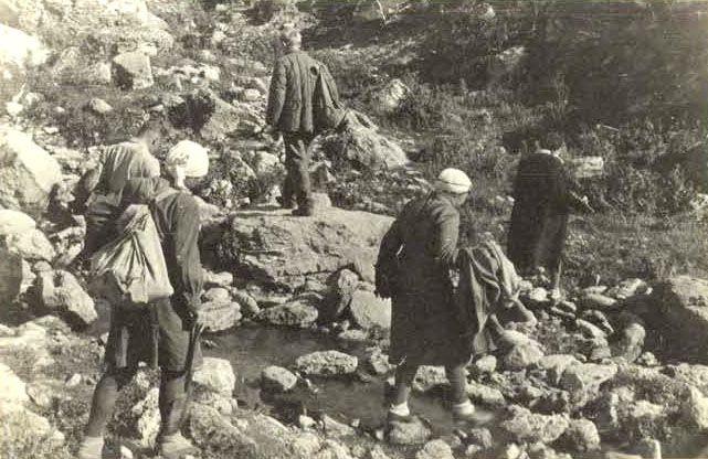 Prima hartă arheologică a fostei RSS Moldovenești, 1947.