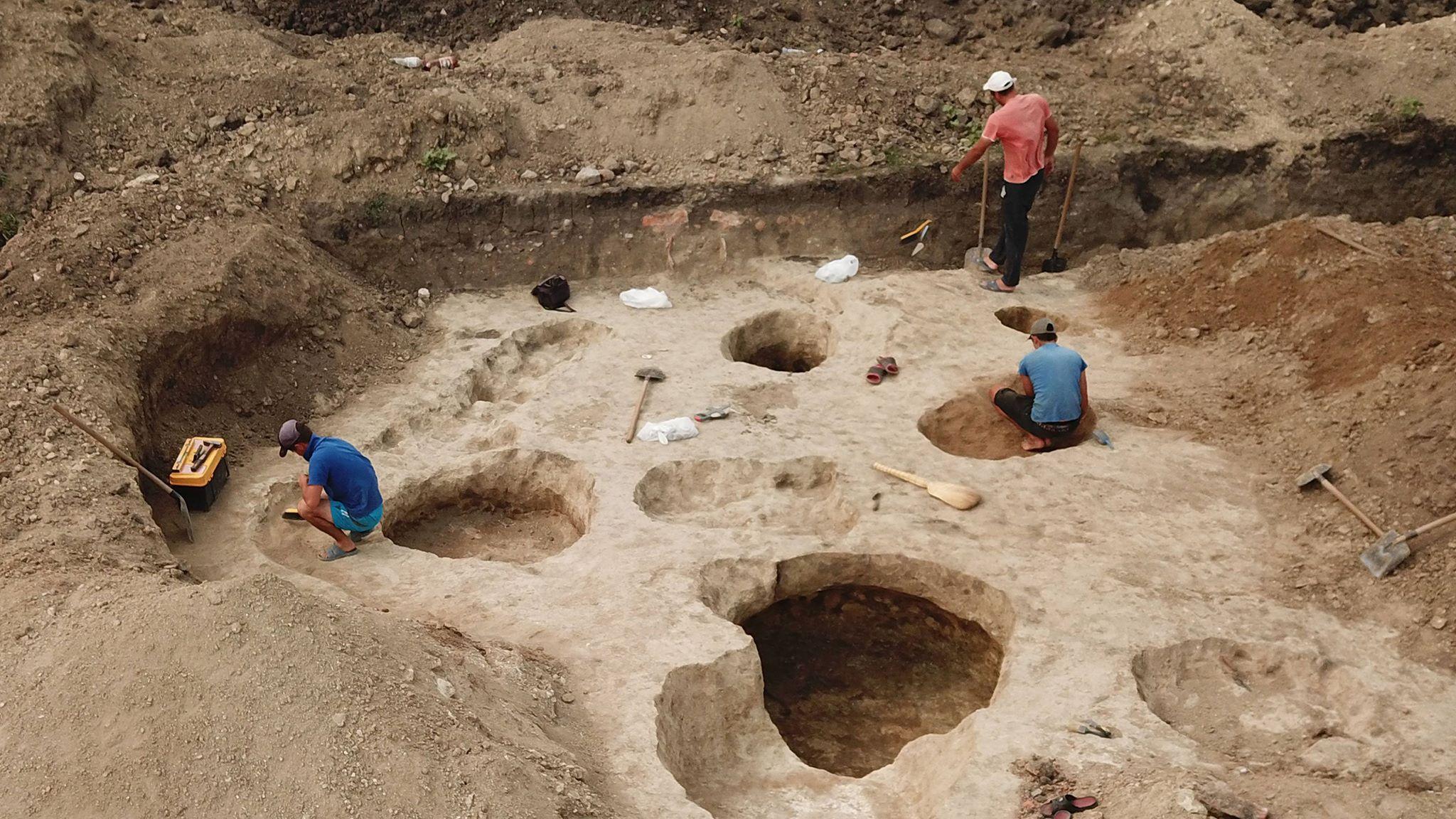 Interviu pentru Radio Moldova despre săpăturile  arheologice de salvare efectuate în vara anului curent